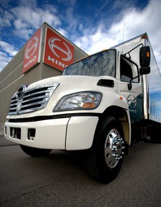 Hino Canadian Built commercial trucks