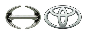 Toyota and Hino commercial trucks